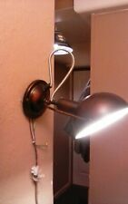 Anglepoise style ajustable wall lamp.