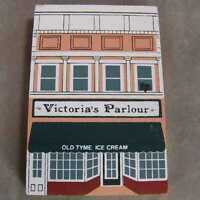 Cat's Meow Village Keepsake Series VIII Victoria's Ice Cream Parlour 1990