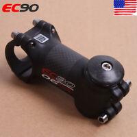 EC90 MTB Road Bike Stem 6°/17° Carbon Fiber Aluminum Headset Stems 60-120mm Matt