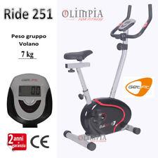 GetFIT - Cyclette MAGNETICA RIDE 251 - Volano 7KG - 3 Regolazioni + Ruote Trasp.