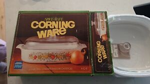 Vintage Corning Ware L'Echalote 2.5 Litre Casserole A-10-B Spice of Life