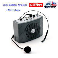 5W Portable Waistband Voice Booster PA Amplifier For Teach Speaker FM MP3 Bro