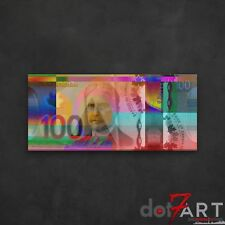 """48""""X22"""" Colorized Canadian One Hundred Dollar Bill - CAD $100 Open Edition Print"""
