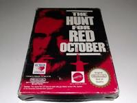 The Hunt for Red October Nintendo NES Boxed PAL *Complete*