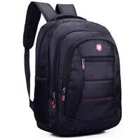 2019 Men Swiss Laptop Backpack Computer Notebook School Travel Bag