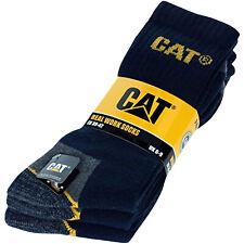 CAT Men's Workwear Crew Socks Black M