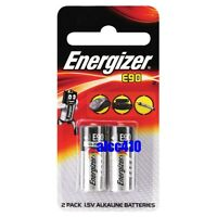 Energizer E90 LR1 MN9100 AM5 1.5V N Size Alkaline Battery Cell 2pcs
