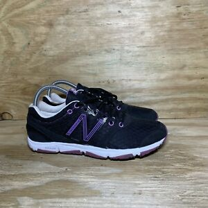 New Balance 730 Running Shoes Womens Size 7.5 B Black Purple W730BP1