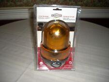 New listing RoadPro 12V Amber Revolving Warning Light with Magnetic Base Rpsc-728