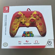 PowerA Enhanced Wired Controller for Nintendo Switch - Golden M Gamepad Wired...