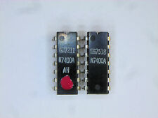 "N7400A  ""Original"" Signetics  14P DIP TTL IC  2  pcs"