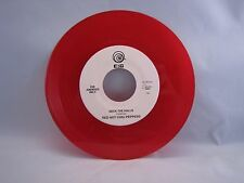 """Red Hot Chili Peppers """"Deck The Halls"""" 45 red vinyl"""