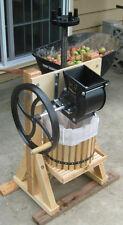 Happy Valley Homesteader Cider Press & Grinder Wine Making Apple Juice Crusher