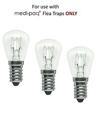 Medipaq Replacement Flea Trap Bulbs for Easy, Effective Way To Trap Fleas 3 Pcs