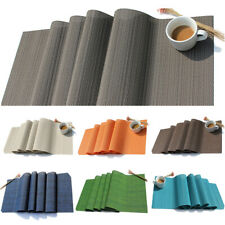 Placemat Heat Insulation Pad Table Runner Waterproof Tablecloth Table Decoration