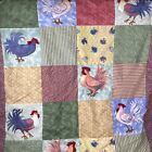 Susan Winget French Country Rooster Tapestry Quilt Dimensional Cracker Barrel