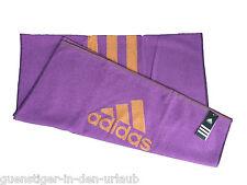 adidas Badetuch Handtuch lila violett Größe 140 x 72 cm 100 % Baumwolle
