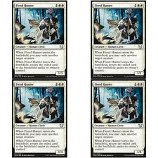 4 x FIEND HUNTER NM mtg Blessed vs Cursed White - Human Cleric Unc