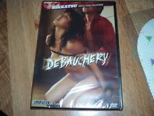 Debauchery DVD NEW Nikkatsu Erotic Films Collection Japanese Impulse GLOBAL SHIP
