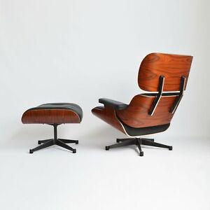 Vitra Lounge Chair & Ottoman Charles & Ray Eames neue Maße (XL) 100% Original