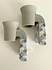 X 2 Bath & Body Works GRAY FLARE Wallflowers Refill Plug In Diffuser