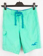 Hollister Men Swimming Shorts Trunks Swimwear Beach Green size XS