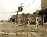 "Old Photo McLoud Oklahoma /""Gas /& Service Station/"""