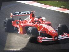 Photo Marlboro Ferrari F2002 2002 #1 Michael Schumacher (GER) Spa #5