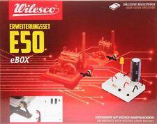 Wilesco E 50 Erweiterungsset E 50 zu Dampfbox D 100 E Neu