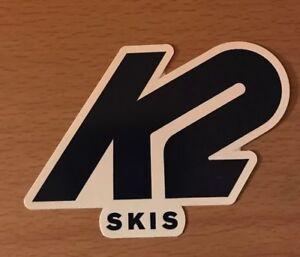 K2 Ski Sticker - Skiing Snowboarding Skis Mountain Sports Gear Aspen Mammoth