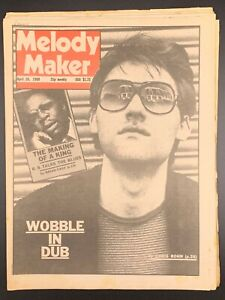 Melody Maker April 26 1980 Jah Wobble BB King Dexy's Midnight Runners