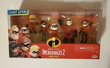 Disney Pixar Incredibles 2 Family Pack Junior Supers - BRAND NEW SEALED