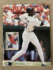 Beckett Baseball Card Monthly April 1994 Issue #109 Michael Jordan