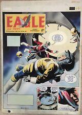 Original Artwork by Keith Watson, Eagle 1963,14/48. Dan Dare The Wandering World