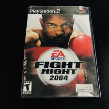 Excellent Fight Night 2004 for Sony PlayStation 2 (PS2) w/ Manual Included