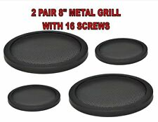8 Inch Speaker Metal Mesh Grills 4 Pieces DJ Car Audio with Clips Screws GT-8