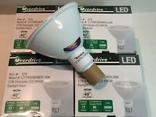 Pack of 4 Overdrive 579, PAR 38, LED 17W-5000K- Dimmable Daylight Flood Bulbs