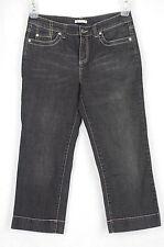 Emma James Black Cropped Jeans Size 6