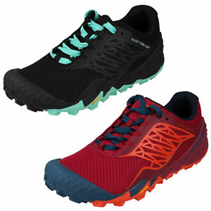 LADIES MERRELL ALL OUT TERRA LIGHT MESH WALKING TRAIL RUNNING SHOES TRAINER SIZE