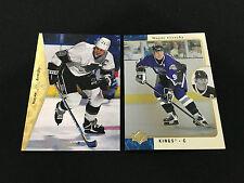 WAYNE GRETZKY SP 1995 & 1996 L.A. KINGS HOCKEY CARDS