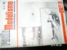 µµ Radio Modelisme n°53 Faire manche à air Construction coque en image Fokker E3