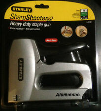Stanley Staple Gun Sharp Shooter Heavy Duty 0-TR150 Anti Jam Action Aircraft Ali