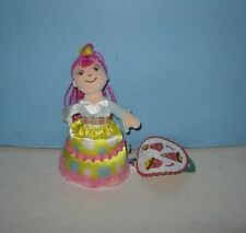 """Cutie Cakes Chocolate """"Bubble Gum Bitsy"""" Cupcake Doll 6"""" Plush by Manhattan Toys"""