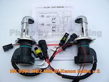 2x HID H4 9003 HB2 Bi-Xenon Hi Lo Low bulbs 10000K 35W