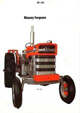 Massey Ferguson Mf 1100 1130 Tractor Service Manual 325pg with Mf1130 Repair