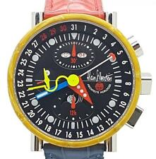 Alain Silberstein Krono Bauhaus 2 Limited Edition Automatic Chronograph B&P RARE