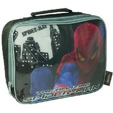 The Amazing Spider Man School Lunch Bag For Boys With Hand Carry Strap New