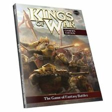 Kings of War, 2nd Edition Rulebook, Gamer's Edition, Mantic - Brand New