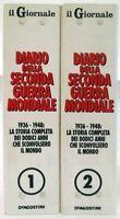 Diario della seconda guerra mondiale 1 e 2,AA.VV,Il Giornale - DeAgostini,1995