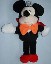 Dracula Vampire Disney Mickey Mouse Plush Stuffed Animal Halloween Costume Toy